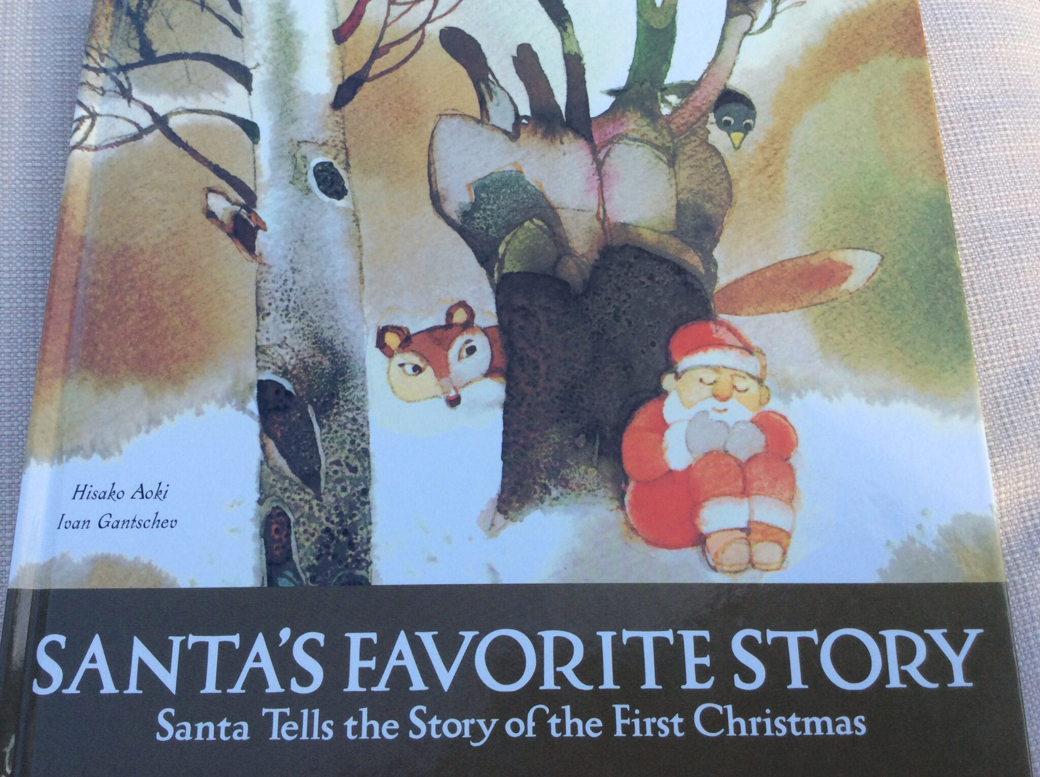 Santa tells the True Christmas Story- Great Kid's Book!