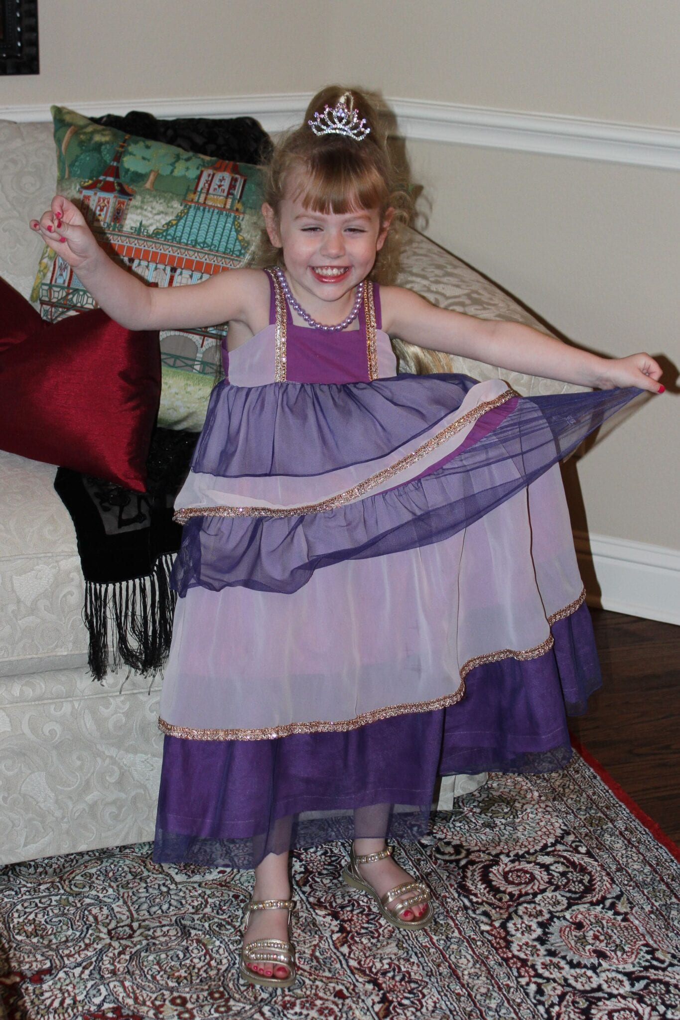 Dyeing the Birthday Dress