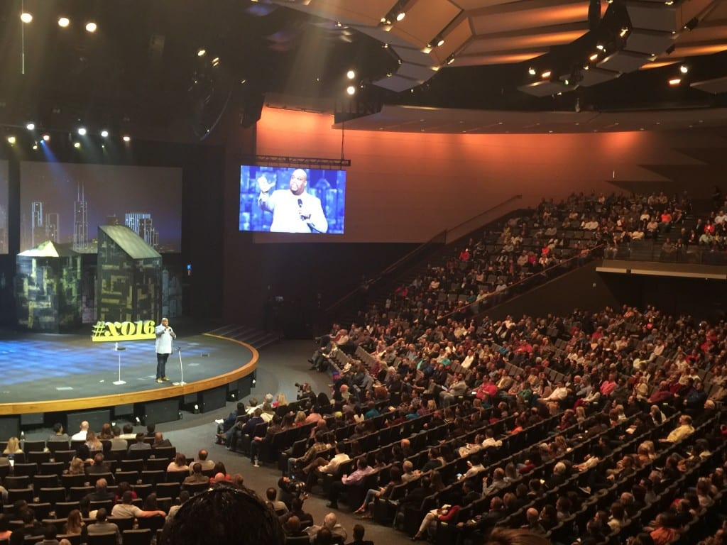 John Gray speaking at the XO Conference