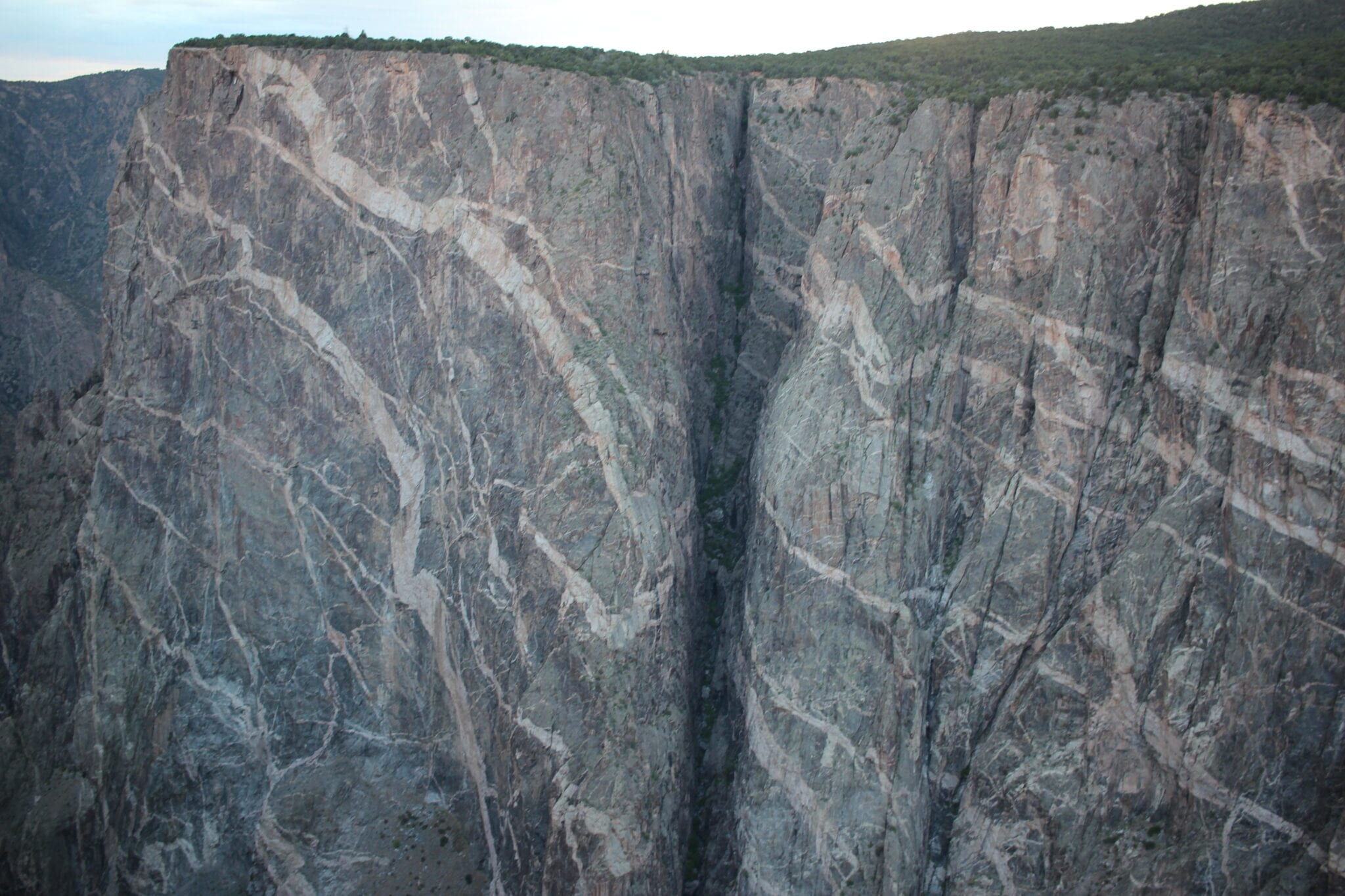 """Painted Wall"" at Black Canyon of the Gunnison National Park"