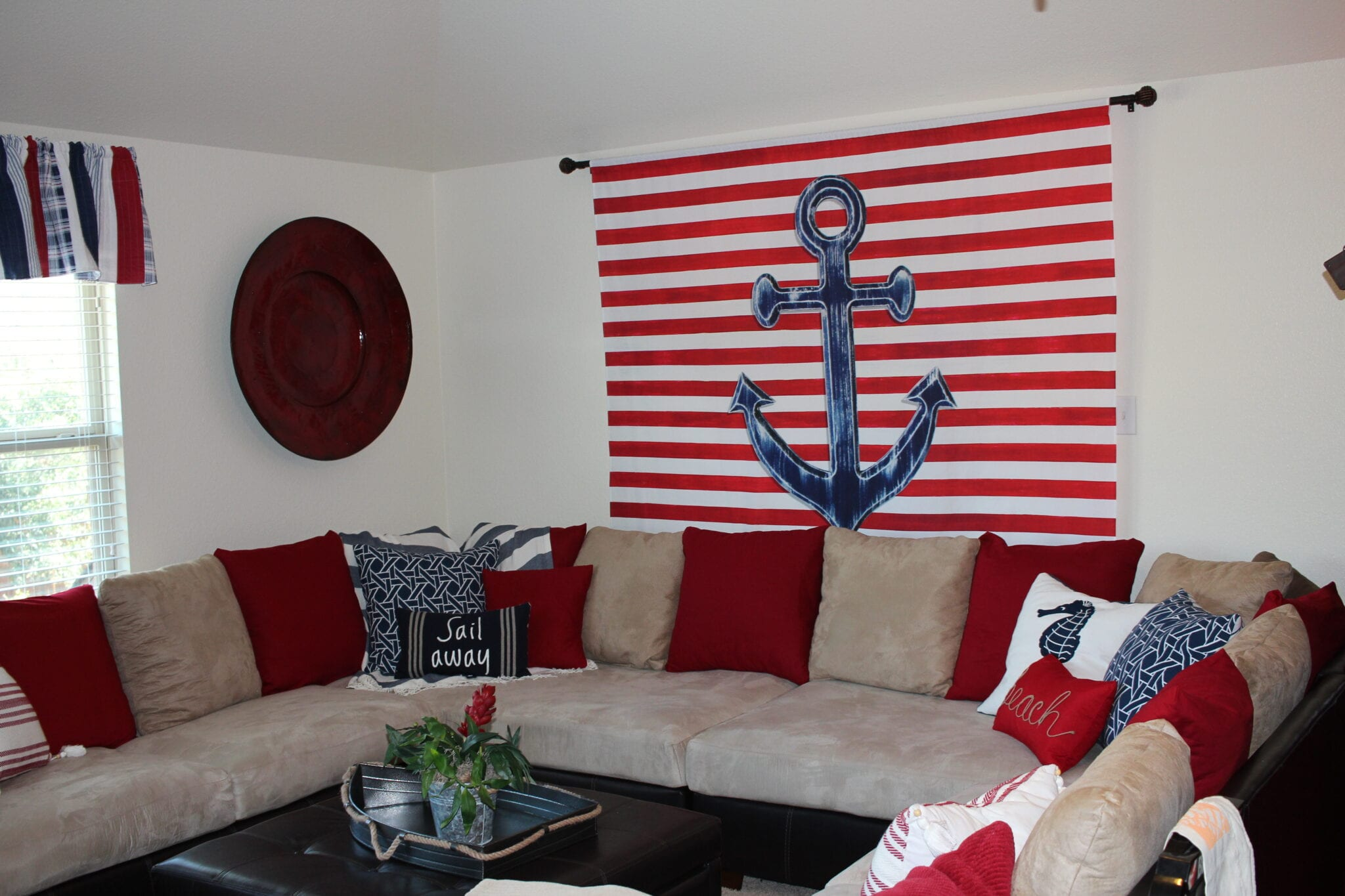 Nautical/ Coastal Decorating Project