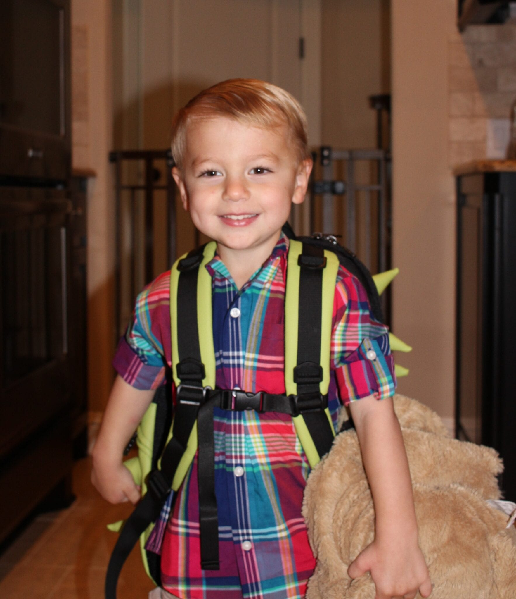First Day of Preschool for 2016-2017