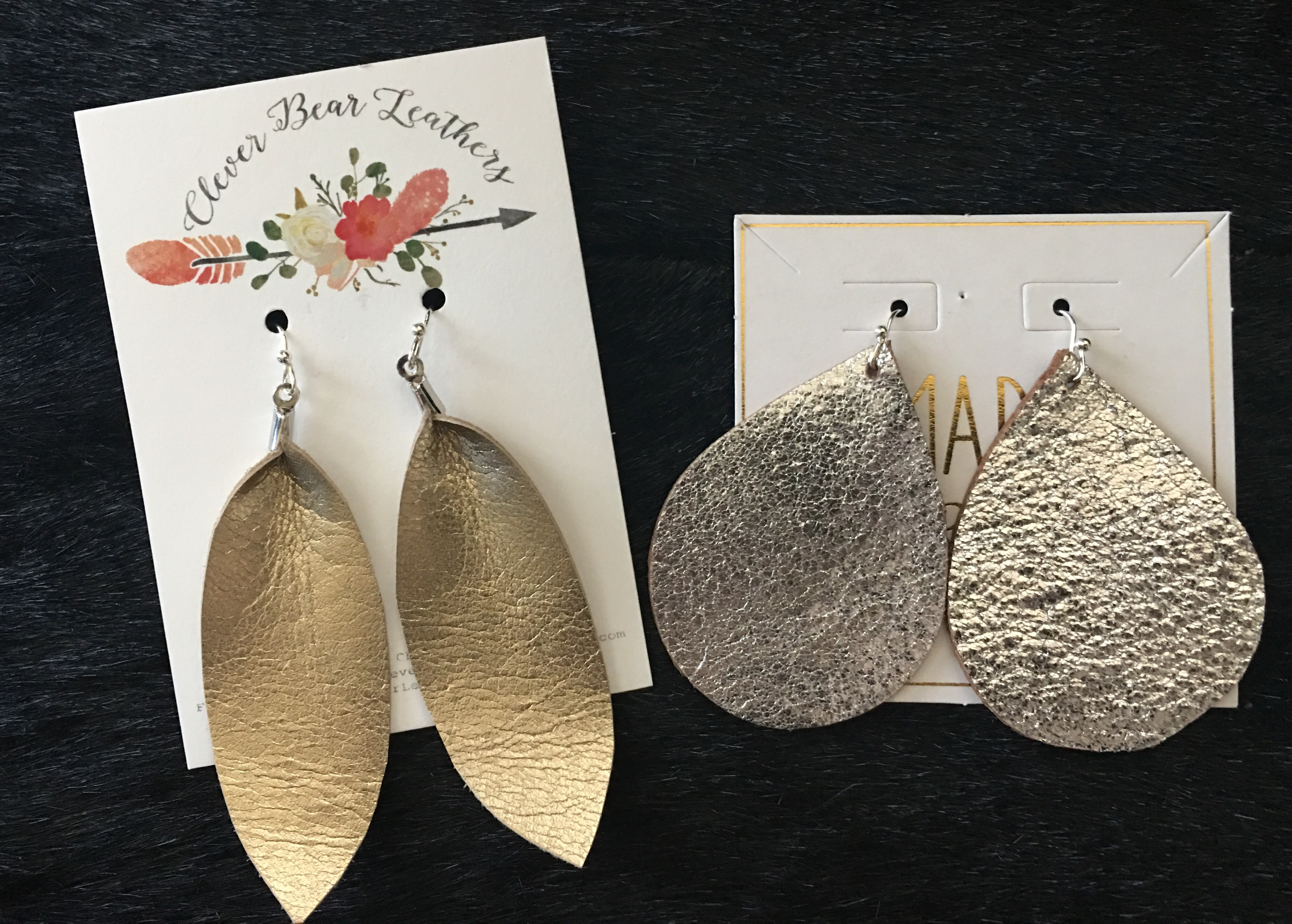 Style- Leather Earrings