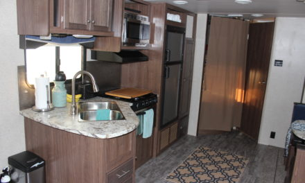 Kitchen and Bedroom Organizing Tips for an RV/Camper