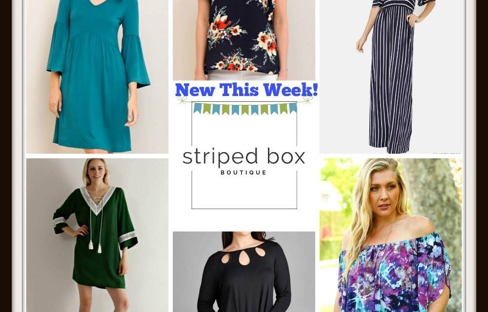 Striped Box Boutique and a Giveaway!