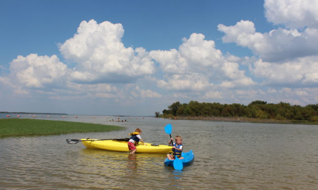 Lake Tawakoni State Park and a Youth Kayak for the Win!